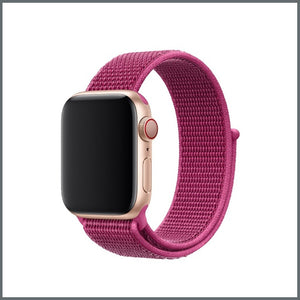 Apple Watch Strap - Sport Nylon Loop - Dragon Fruit