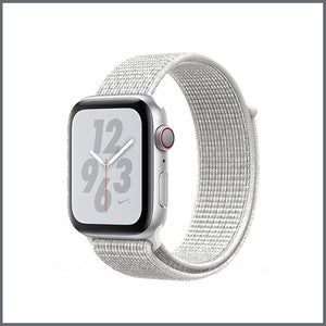 Apple Watch Strap - Sport Nylon Loop - Summit White
