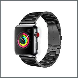 Apple Watch Strap - Power Link - Brushed Black