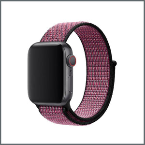 Apple Watch Strap - Sport Nylon Loop - True Berry