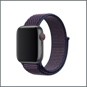 Apple Watch Strap - Sport Nylon Loop - Indigo