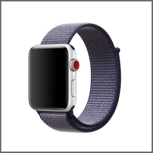 Apple Watch Strap - Sport Nylon Loop - Midnight Blue