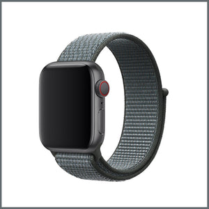 Apple Watch Strap - Sport Nylon Loop - Storm Grey