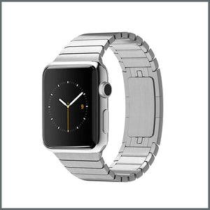 Apple Watch Strap - Timeless Link - Silver