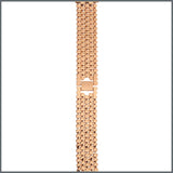 Apple Watch Strap - Beehive Link - Rose Gold