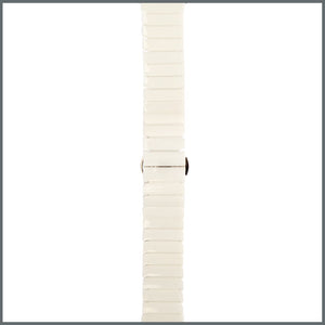 Apple Watch Strap - Ceramic Link - Gloss White