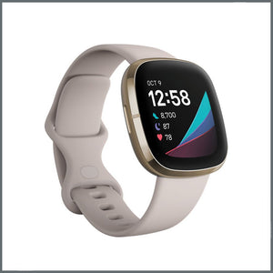 Fitbit Versa 3 Strap - Infinity Silicone - Grey