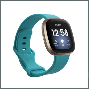 Fitbit Versa 3 Strap - Infinity Silicone - Teal