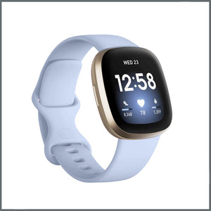 Fitbit Versa 3 Strap - Infinity Silicone - Powder Blue