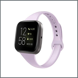 Fitbit Versa Strap - Dainty Silicone - Lilac