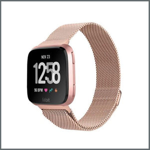 Fitbit Versa Mesh Loop Strap - Champagne Gold