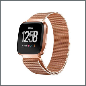 Fitbit Versa Mesh Loop Strap - Rose Gold