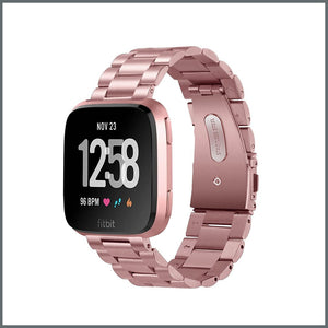 Fitbit Versa Strap - Power Link - Metallic Rose