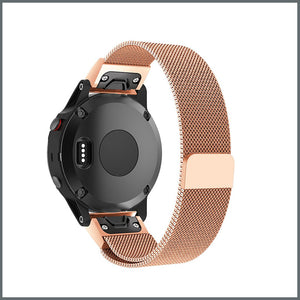 Garmin Quick Fit Strap - Mesh Loop - Rose Gold