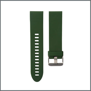 Garmin Quick Fit Strap - Active Silicone - Dark Green