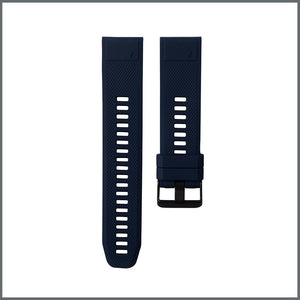 Garmin Quick Fit Strap - Classic Silicone - Navy