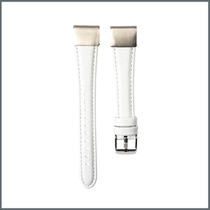 Garmin Quick Fit Strap - Elegant Leather - White