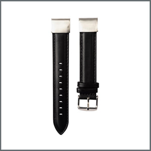 Garmin Quick Fit Strap - Traditional Leather - Black
