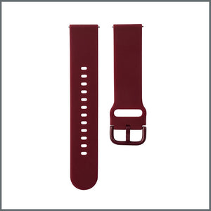 Quick Release Strap - Active Silicone - Wine Red