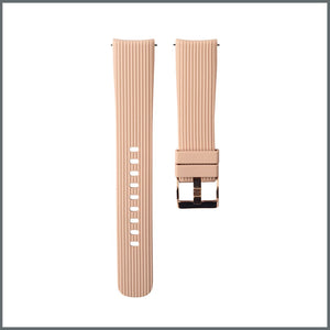 Quick Release Strap - Trendy Silicone - Biscuit