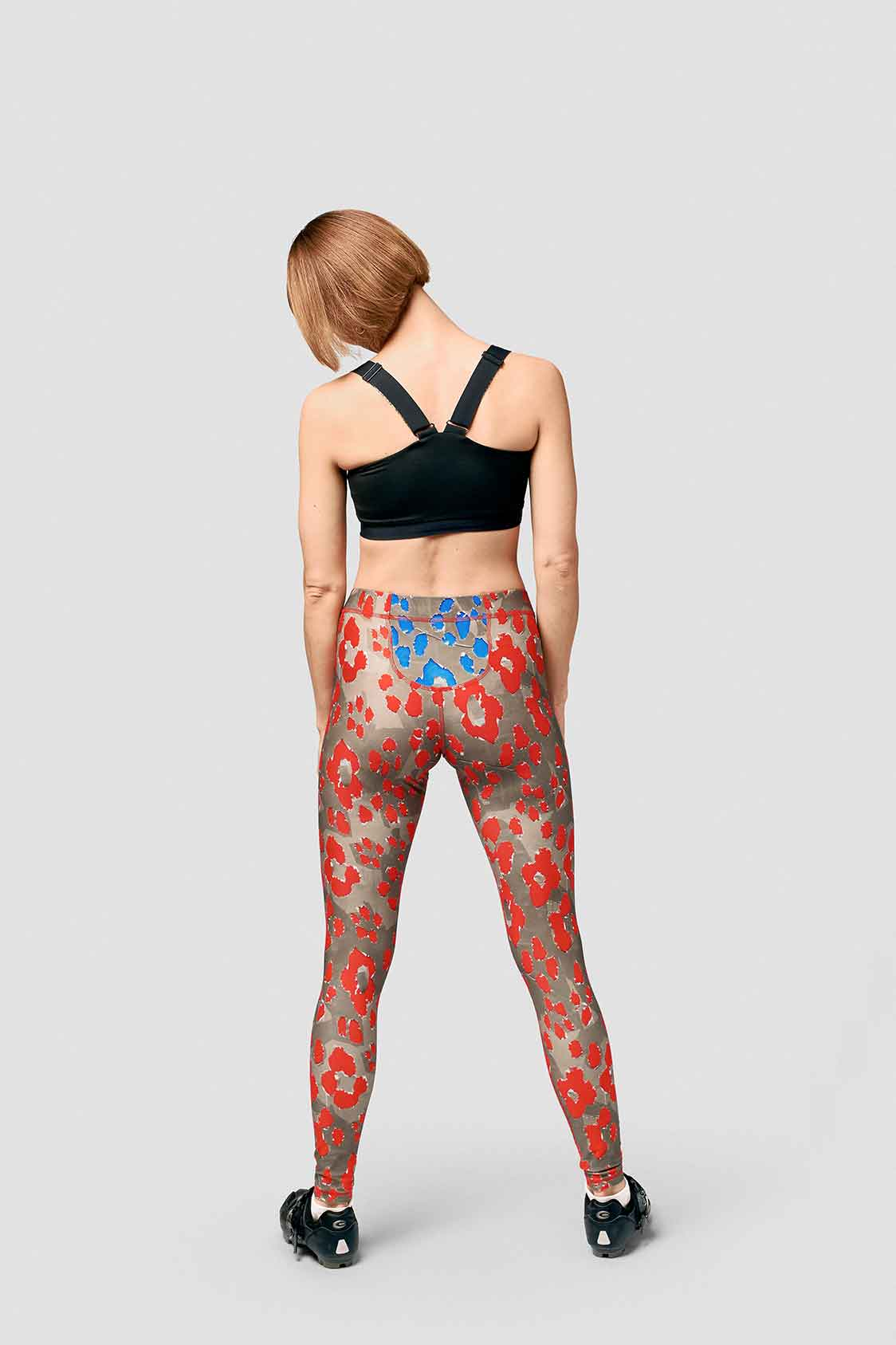 'SCHUELLER DE WAAL X LPRD' Leggings 'Fuelling Red'