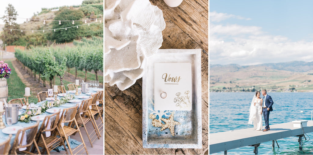 David & Kylie's Karma Vineyards wedding | Lake Chelan, Wa
