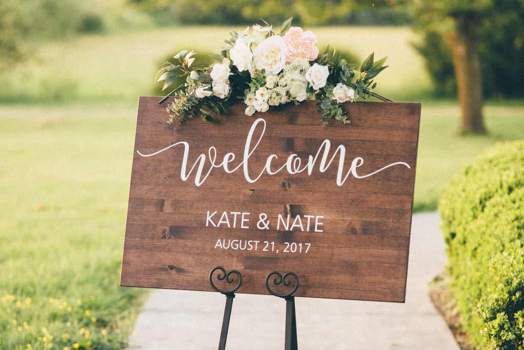 30 Wedding Welcome Signs That Will Greet Your Guests With Style in 2019