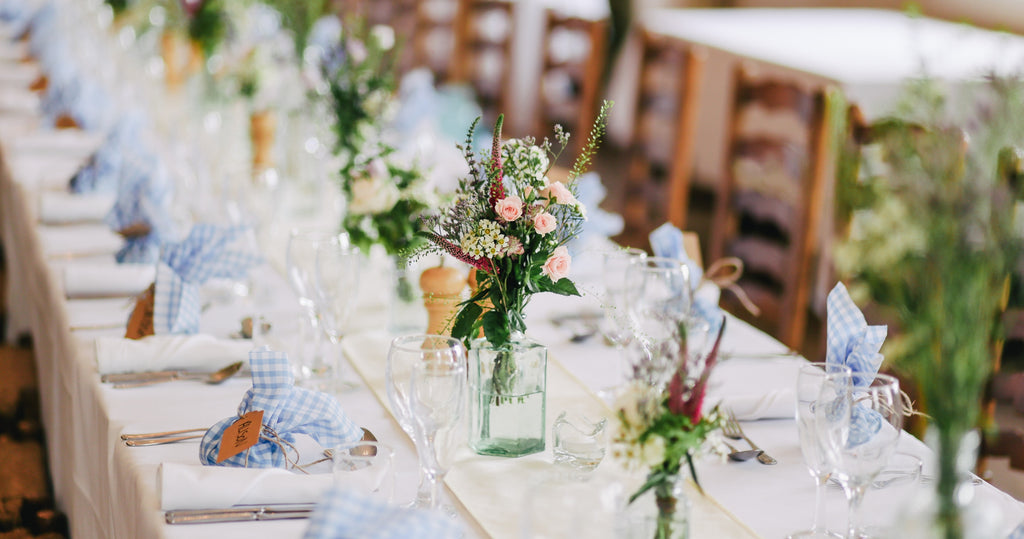 Wedding Table Decorations with Centerpieces