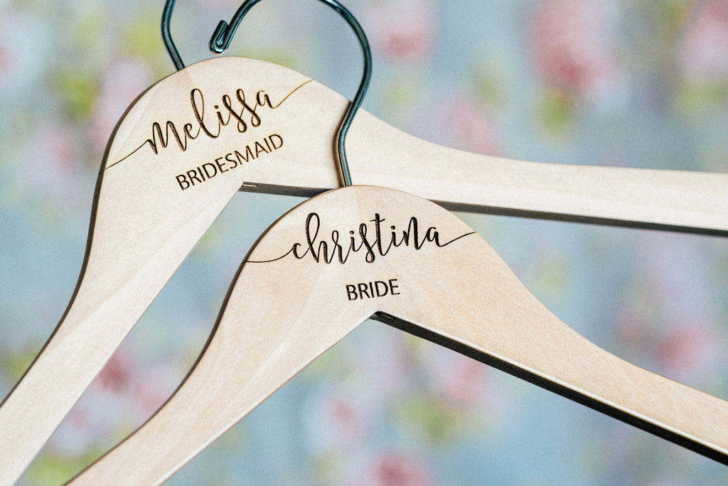 Personalized Bridesmaid Hangers #HG100