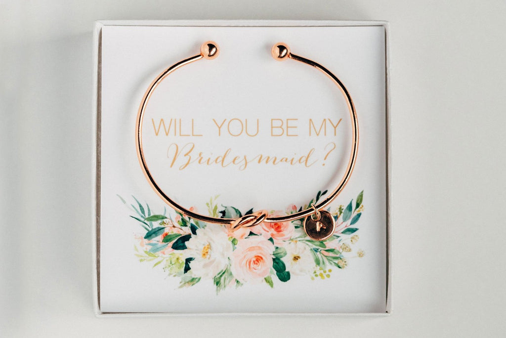 Bridesmaid Bracelet - Proposal Gift #BC004