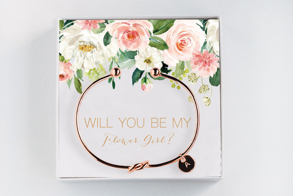 Flower Girl Bracelet - Proposal Gift #BC016