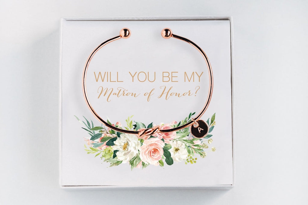 Matron Of Honor Bracelet - Proposal Gift #BC014