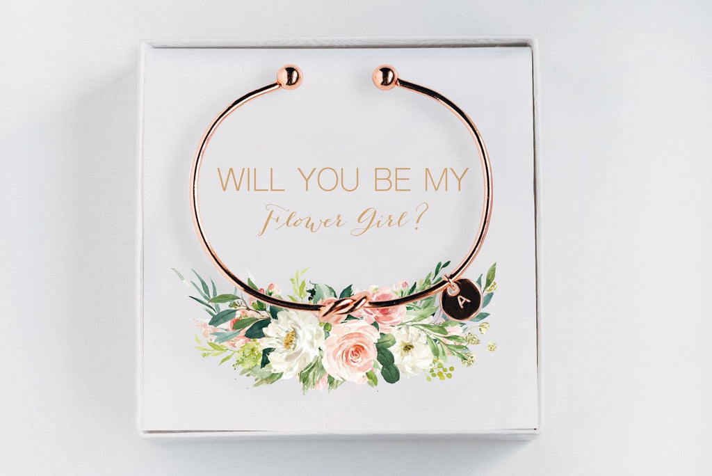 Flower Girl Bracelet - Proposal Gift #BC012
