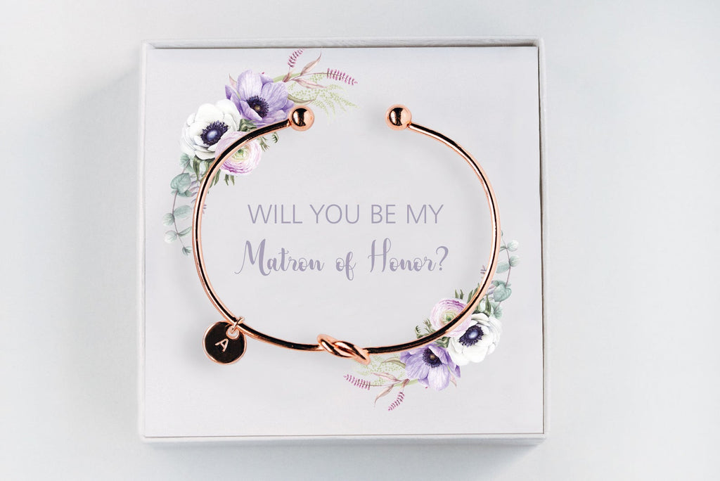 Matron Of Honor Bracelet - Proposal Gift #BC026