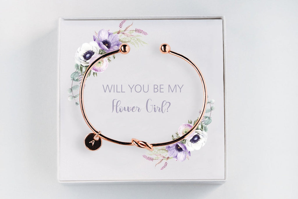 Flower Girl Bracelet - Proposal Gift #BC028