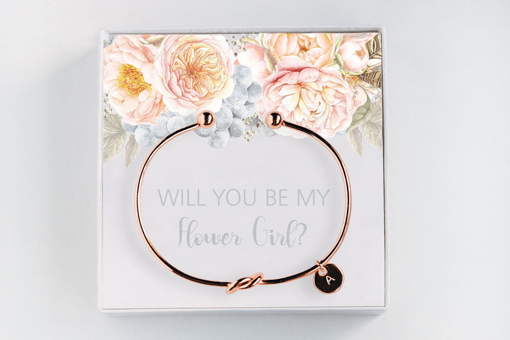 Flower Girl Bracelet - Proposal Gift #BC033