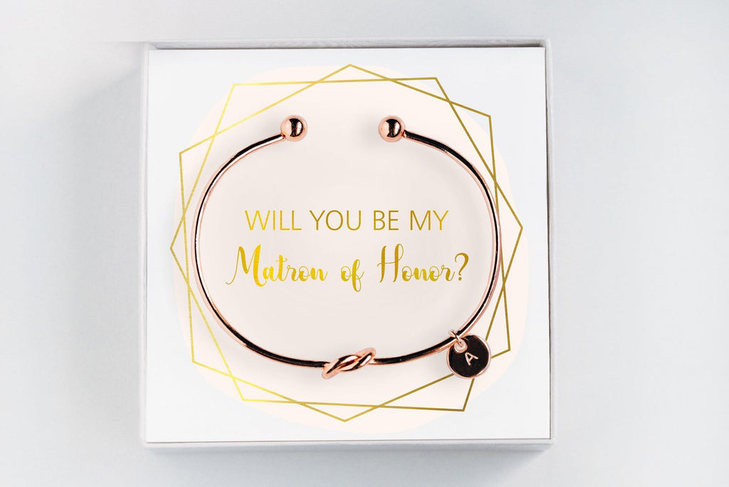 Matron Of Honor Bracelet - Proposal Gift #BC056