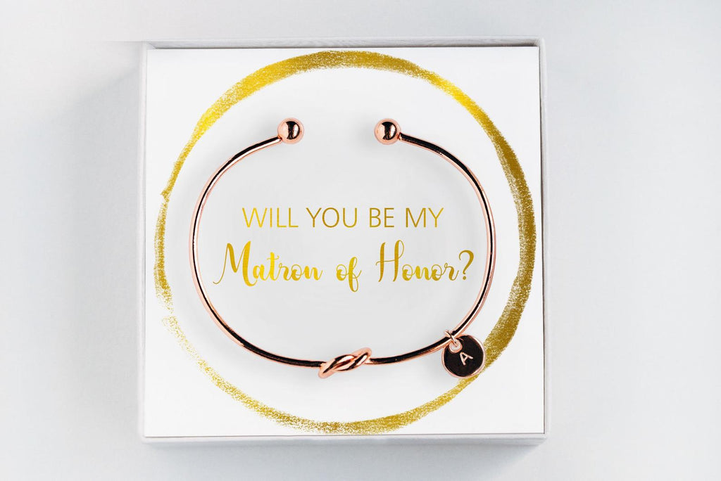 Matron Of Honor Bracelet - Proposal Gift #BC051