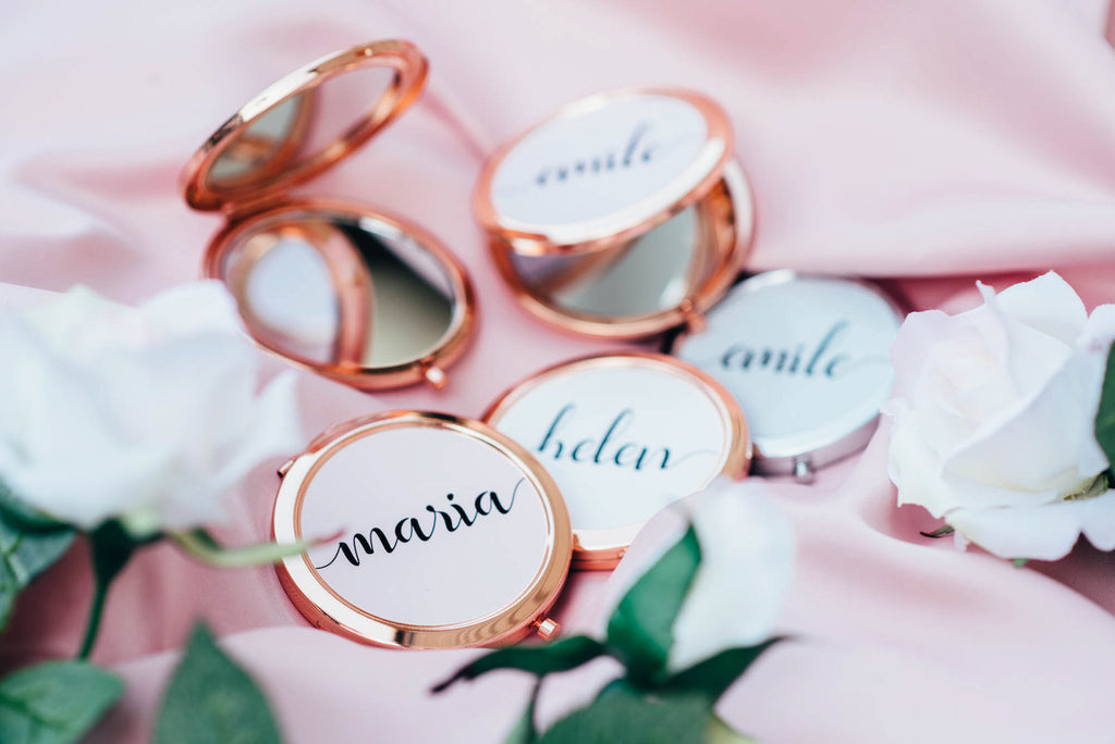 Bridesmaid Compact Mirror - Pocket Mirror #PM01