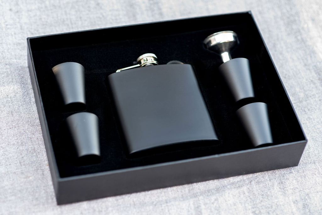Groomsmen Custom Flask