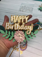 Anuncio Floral Happy B-day