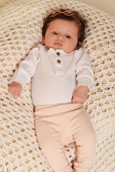 Newborn Ribbed Legging (3 Colours Available)