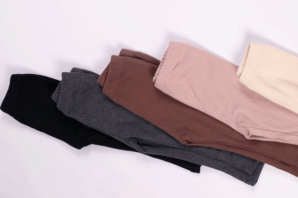 Basic Ribbed Legging (5 Colours Available)