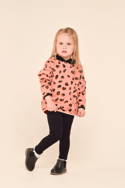 Leopard Oversized Hoody (2 Colours Available)