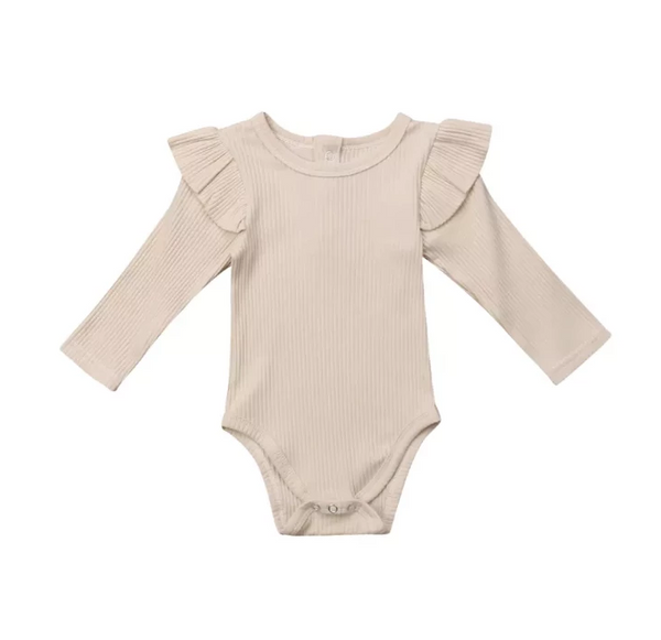 Ruffle Bodysuit (2 Colours Available)
