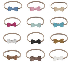 Bow Headband (12 Colours Available)