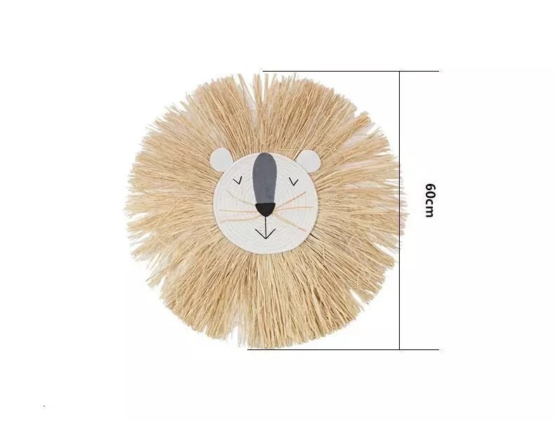 Nordic weaving animal wall hanging decor (multiple options)