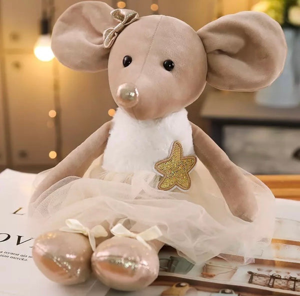 Vintage decorative mouse (multiple colours)