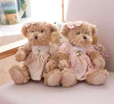 Vintage teddy bears 2pc set