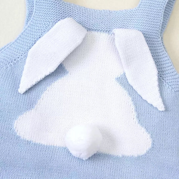 Bunny Romper knitted (multiple colours)
